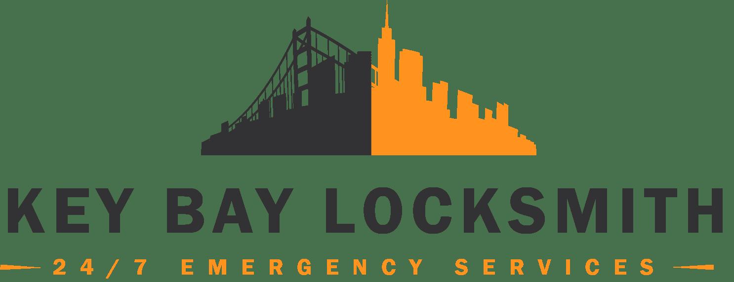 key bay locksmith services logo